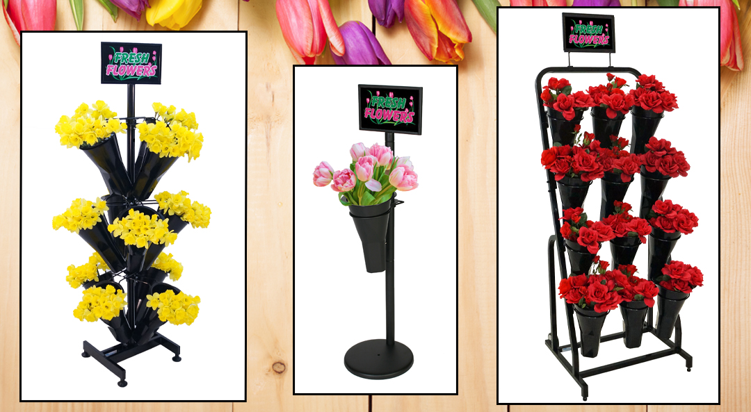 Floral Displays from Mobile Merchandisers
