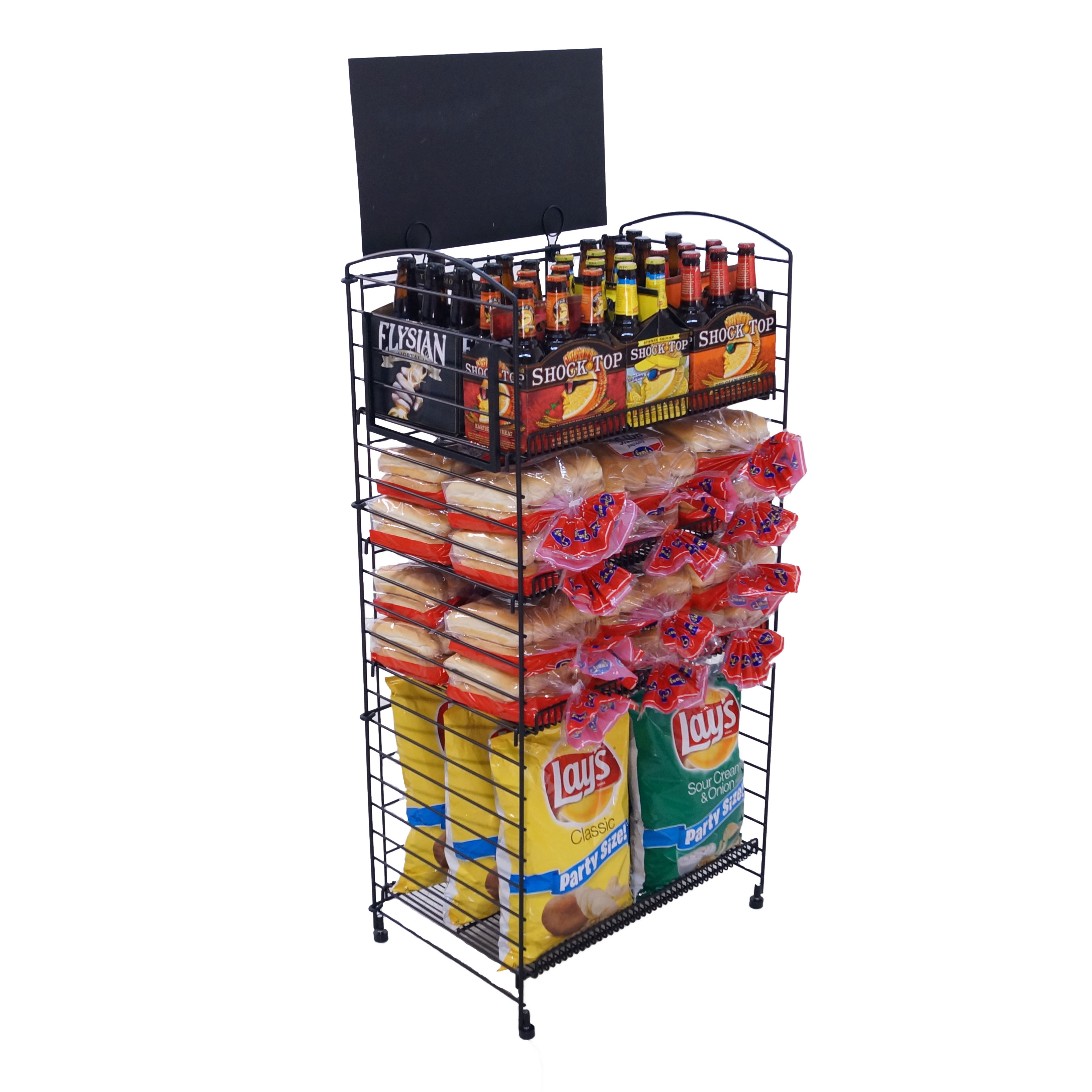 detail rack snack side product four best shelf buy candy display quality