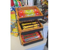 Counter Basket Display with candy