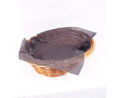 Mesh liner accessory for basket