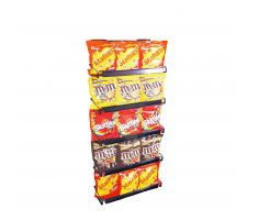 Wire cooler display with candy