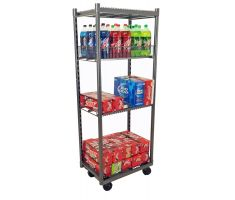 Mobile Stocker with soda and drinks