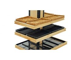 alternative configurations for bakery display