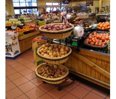 K2346 Basket Display with produce