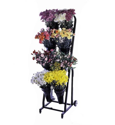 Floral cart with variety of floral