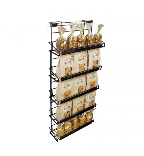 Wire Cooler Display with cookies and treats